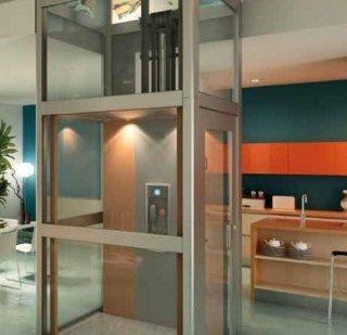 Installazione di ascensori oleodinamici